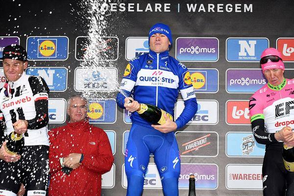 Lampaert, vainqueur d' A Travers la Flandre.
