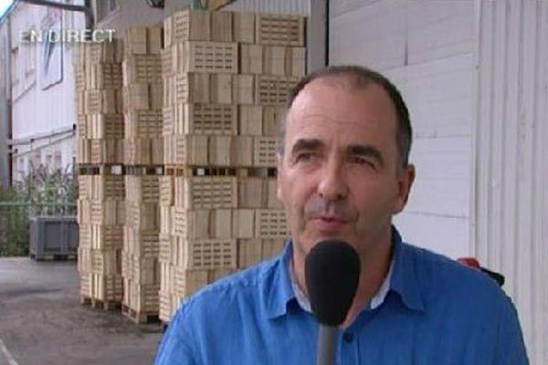 Bruno Colin, directeur de la coopérative Végafruits