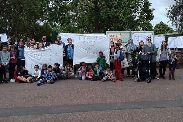 Les parents et enseignants de l'école Boisard se mobilisent pour sauver une classe