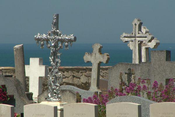 Le cimetière marin de l'Herbaudière où repose une partie des victimes du naufrage du Saint-Philibert le 14 juin 1931