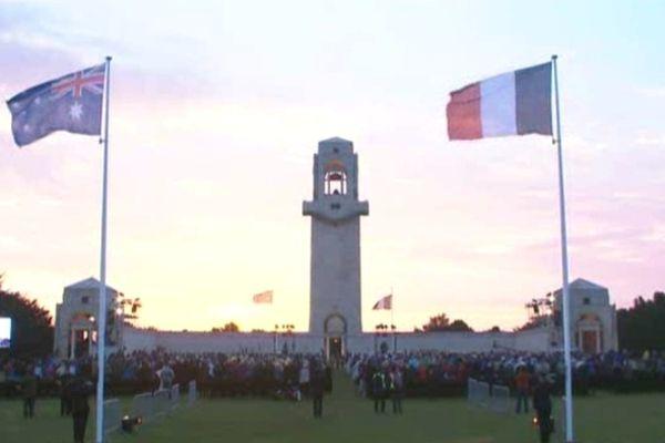 Les cérémonies de l'Anzac Day débuteront jeudi 25 avril à 5h30 du matin au Mémorial de Villers-Bretonneux dans la Somme