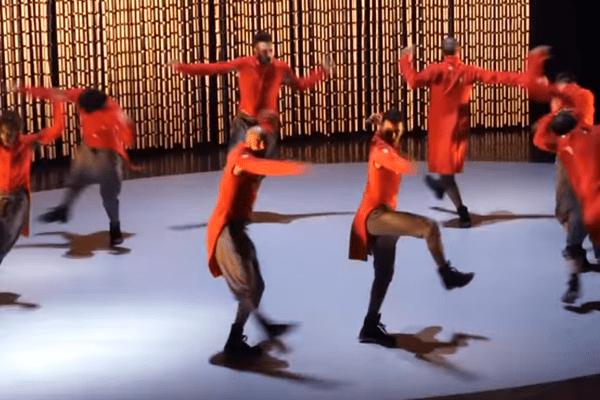 """Représentation """" Les Forains """", ballet revisité par le chorégraphe bordelais Anthony Egéa"""