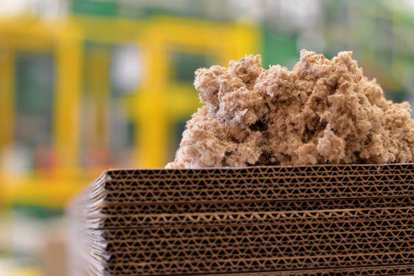 Le carton est un matériaux qui se recycle