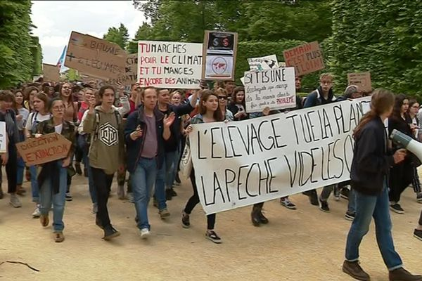 Près de 400 jeunes ont défilé ce vendredi à Poitiers