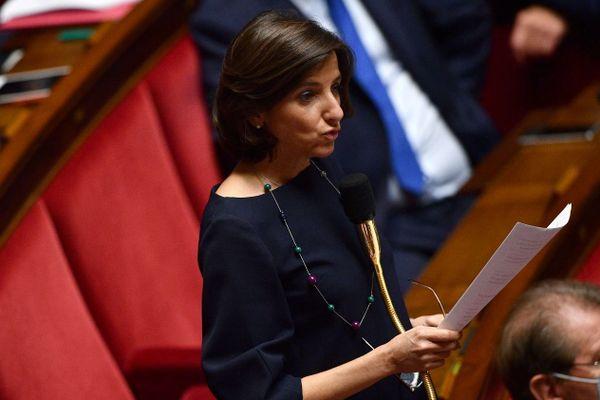 Nathalie Elimas, le 8 juillet dernier à l'Assemblée nationale.