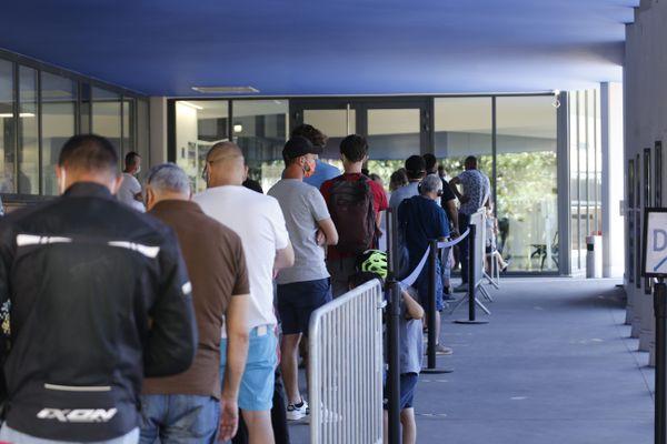 Le nombre des dépistages a augmenté à l'IHU de Marseille depuis le début de l'été.