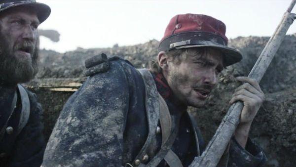 Nino Rocher interprète Gabriel Chevallier dans le film La Peur, mis en scène par Damien Odoul en 2015
