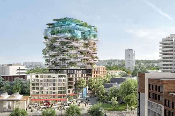 LE KREMLIN-BICÊTRE –Tout en accordant une forte importance à la végétalisation, le projet « L'Hospitalité », au Kremlin-Bicêtre, développe une nouvelle approche, flexible et modulable, de l'habitat.