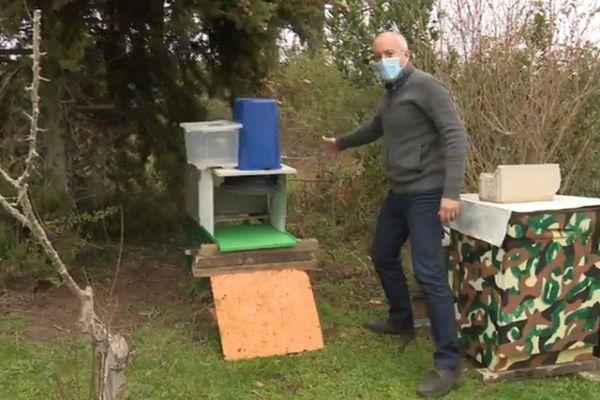 Prédateur redoutable le frelon asiatique décime les ruches sans que arme à lui opposer. Mais un ingénieur audois a peut-être trouvé une solution.