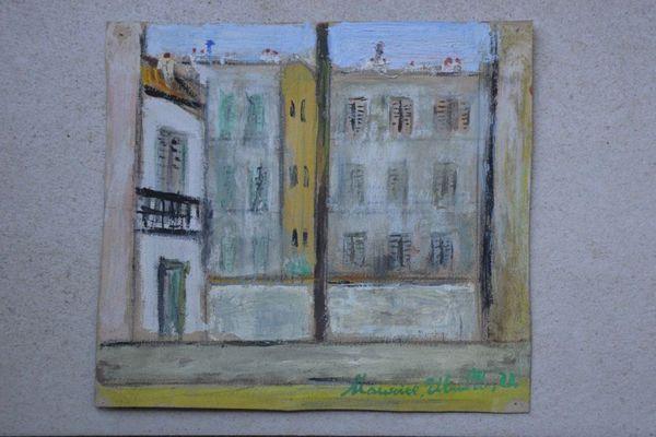 Deux oeuvres de Maurice Utrillo vendues en ligne aux enchères à Brive
