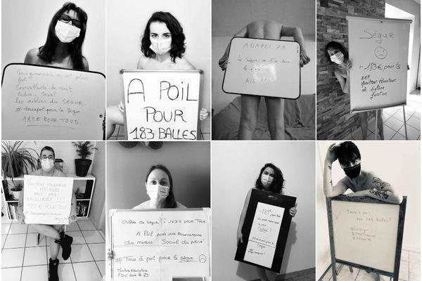 Ces salariés de l'Adapei 79, qui ne bénéficient pas d'une hausse de salaire de 183 euros contrairement à leurs collègues travaillant dans le secteur public, dénoncent une injustice. Ils estiment être les oubliés du Ségur de la Santé.