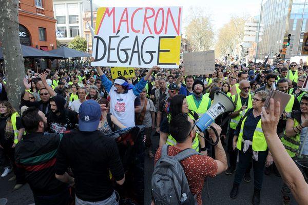 L'an dernier déjà, la brasserie les Américains (à gauche de la photo - parasol gris) a été impactée par la mobilisation des Gilets jaunes à Toulouse.