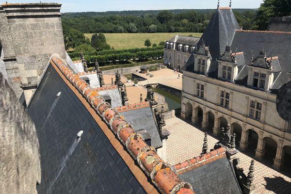 Le château de Villandry, dans l'Indre-et-Loire, a réouvert l'accès à ses jardins le 16 mai dernier, après trois mois de fermeture.