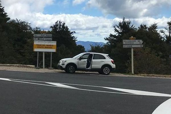 Le Mont Aigoual ne sera accessible qu'à pied pour les spectateurs.