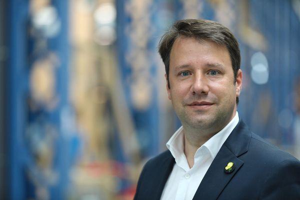 Loïg Chesnais-Girard, président sortant et candidat du parti socialiste.