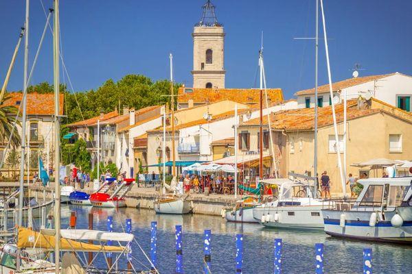 Le port de Marseillan, commune du bassin de Thau dans l'Hérault.