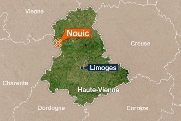L'accident de chasse s'est produit cet après-midi sur la commune de Nouic