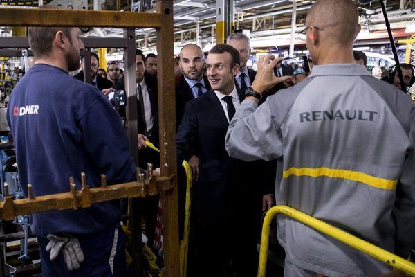 L'annonce a été faite jeudi 8 novembre, lors de la visite du président sur le site Renault de Maubeuge.