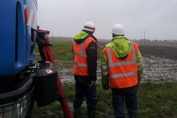 Les 1500 foyers encore privés de courant se trouvent dans des zones isolées et éparses ce qui complique les interventions des équipes d'ERDF