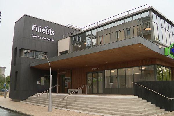 Le centre de santé Filiéris à Montceau-les-Mines, là où la fausse médecin a exercé pendant 4 mois en 2020.