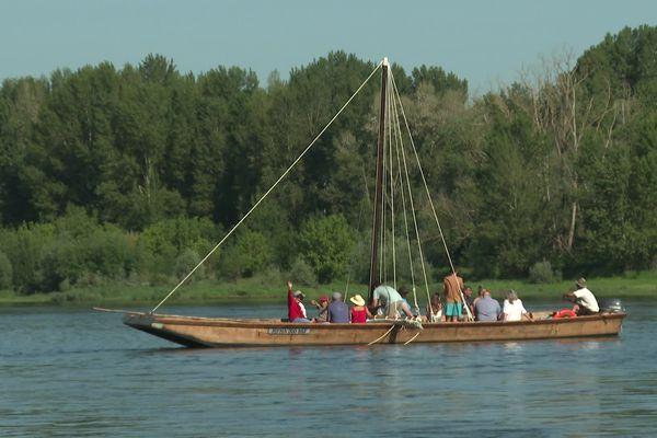 Douze chanceux ont pu profiter d'une virée sur la Loire ce dimanche 13 juin.