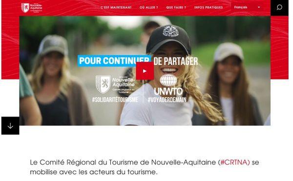 Image de la campagne de sensibilisation au tourisme solidaire du comité régional de tourisme
