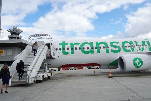 Un avion Tansavia en escale à l'aéroport d'Orly en octobre 2017 (image d'illustration).