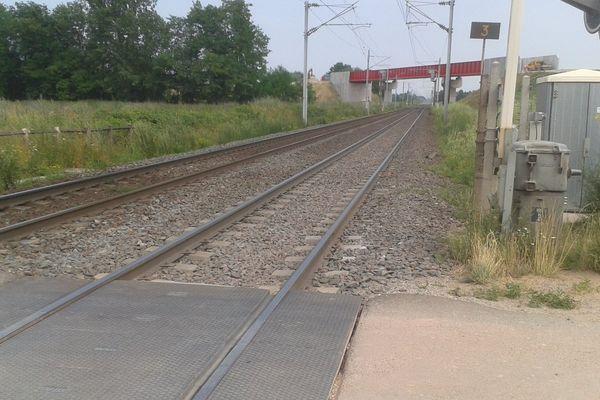 L'accident a eu lieu à Eckwersheim au passage à niveau rue de Hoerdt.