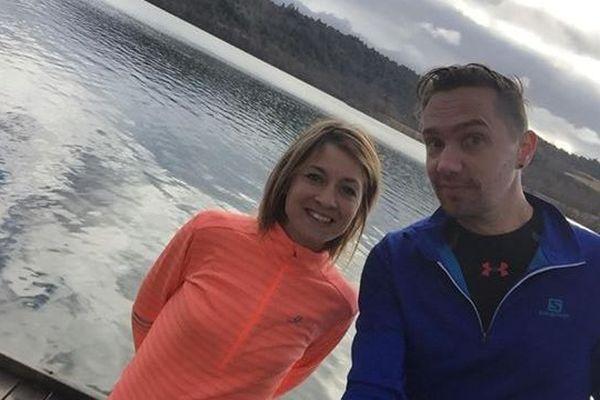Aurélie et Thomas veulent prouver les bienfaits du sport lorsque l'on souffre de sclérose en plaques.