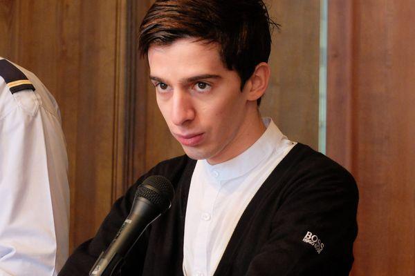 Yacine Sid, meurtrier présumé de Pierre Nasica face à la cour d'assises