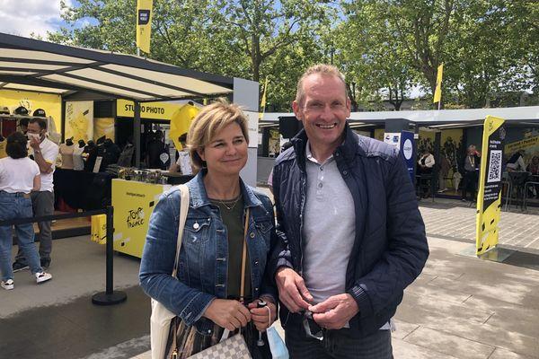Les parents de Mathieu van der Poel le suivent attentivement sur le Tour de France.
