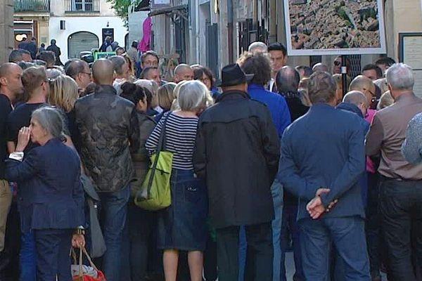 Montpellier - une manifestation de soutien au projet immobilier d'hôtel-restaurant des frères Pourcel en centre ville - 3 mai 2016.