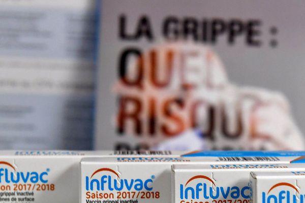 Des vaccins contre la grippe dans une pharmacie à Bordeaux, le 6 octobre 2017