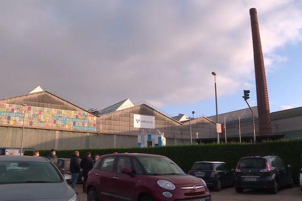 Novembre 2020 - Une partie des bâtiments de l'usine Vallourec de Déville-lès-Rouen (Seine-Maritime)