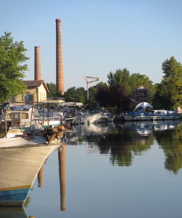 L'ancienne friche industrielle de la papeterie de Montech, dans le Tarn-et-Garonne.