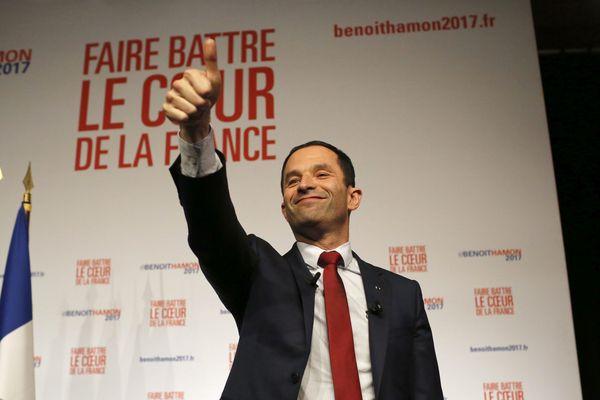 Benoit Hamon devient le candidat du Parti Socialiste à l'élection présidentielle