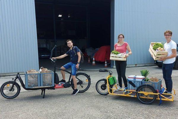 En trois d'existence, le local du port du Rhin est passé de 8 à 300 m², le vélo en bois des débuts a été remplacé par un somptueux vélo-cargo.