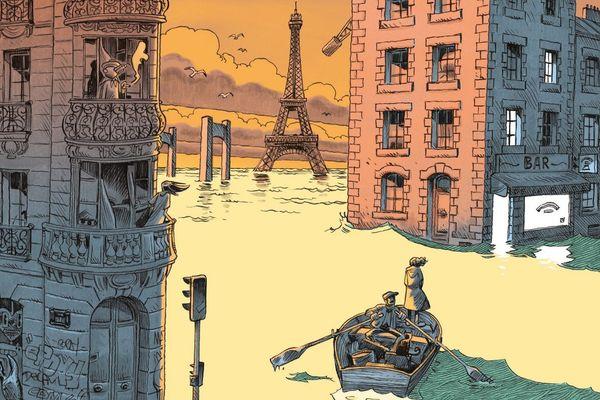 Julien Solé signe la couverture de la revue Casier[s] n°5.
