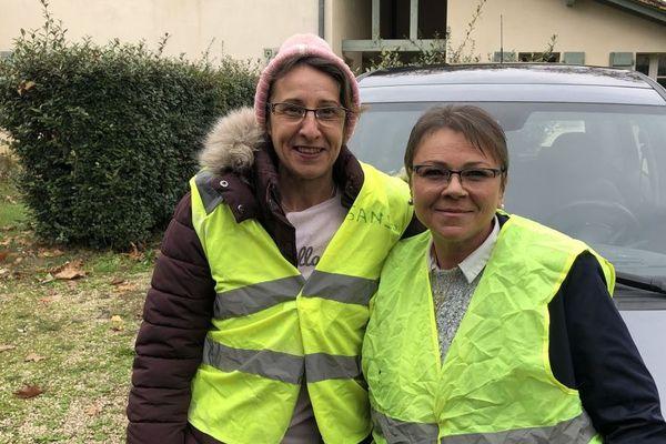 Sandra (à gauche) et son amie Sylvie retourneront manifester les 16 et 17 novembre