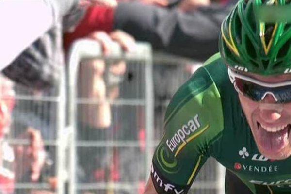 Le coureur Pierre Rolland