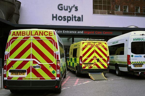 Le Guy's Hospital à Londres ce mercredi.