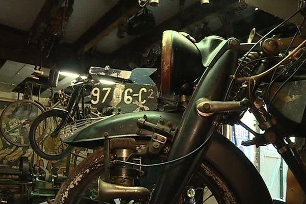 La collection de motos de Jean-Luc Gaignard
