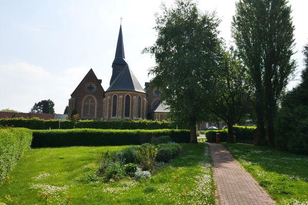 L'église Saint-Martin de Terdeghem