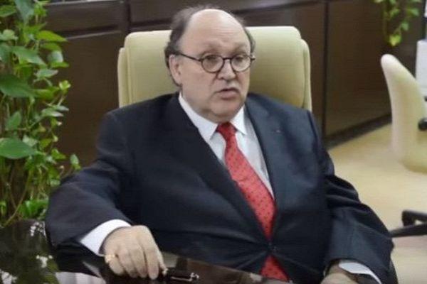 Albert Lourde, ancien vice-président de l'université de Perpignan
