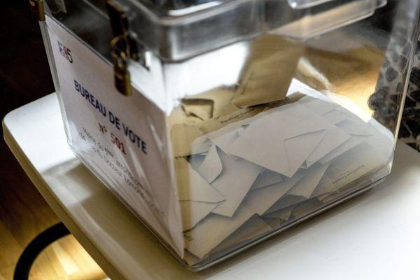 Photo d'illustration d'un bureau de vote.