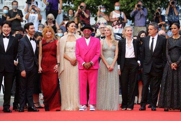 Le jury du 74e Festival de Cannes. Au centre, Spike Lee, président du jury.