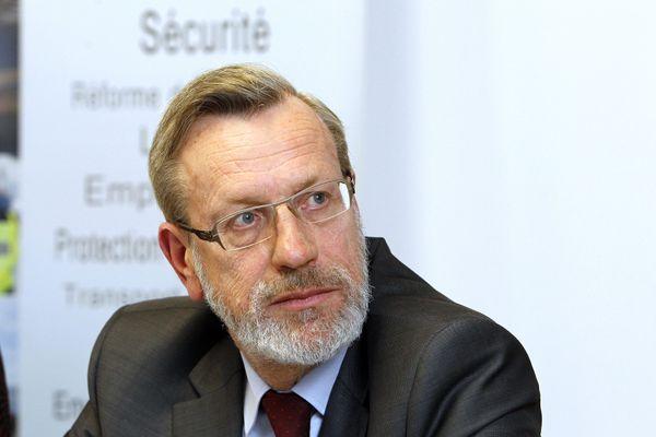 Pierre Pouëssel, le préfet de région Centre-Val de Loire et du Loiret.