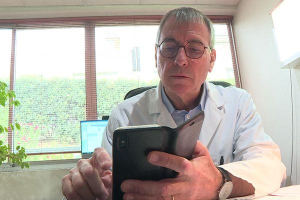 Cabestany (Pyrénées-Orientales) - Le médecin Jean-Paul Ortiz est la cible de commentaires haineux sur les réseaux sociaux. Archives.