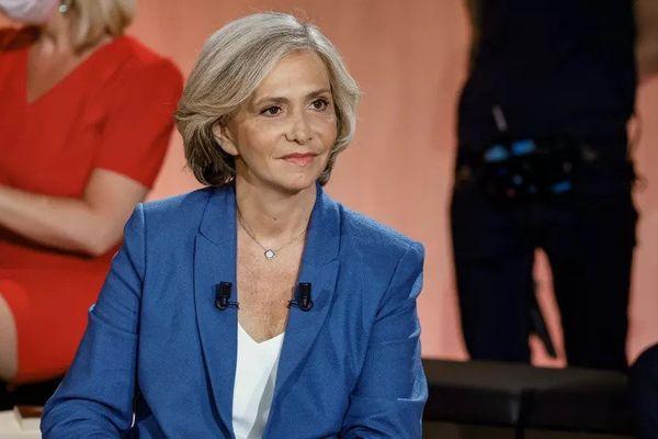 La présidente de la région Ile-de-France, Valérie Pécresse, à Paris, le 14 juin 2021.