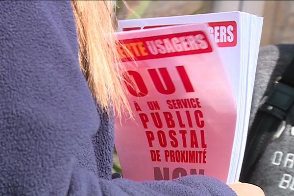 Le tract des facteurs des Cévennes en grève contre la réorganisation de leurs tournées